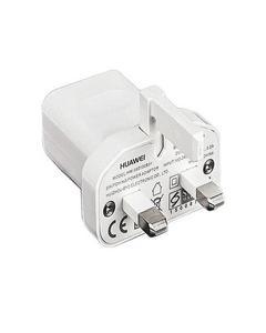 Genuine Huawei 3 Pin Wall Travel Adoptor 5V/1A Usb Power Adapter - White