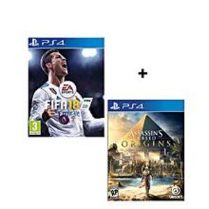Electronic ArtsBundle Offer - Fifa 18, Assassin'S Creed Origins - Playstation 4