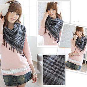 Winter Men Women Scarf Unisex Blanket Tassel Fashionable Shawls