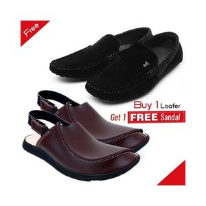 Shophope Combo Of 1 Loafer And 1 Sandal