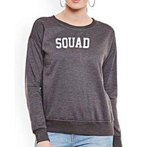 SA BazaarWomen  SQUAD Sweat Shirts