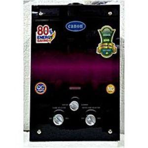 CANONInstant Geyser Gas - 6 Liter - Black New Model