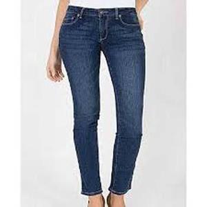 Blue Narrow Jeans For Women