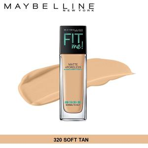 Maybelline New York Fit Me Matte + Poreless Foundation (320 Soft Tan-30ml)(Soft Tan)