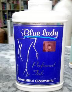 Blue Lady - Perfumed Talcum Powder - 350Gm