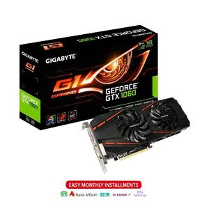 Gigabyte GTX 1060 G1 Gaming 6GB GDDR5 192-Bit Graphic Card (GV-N1060G1 GAMING-6GD)
