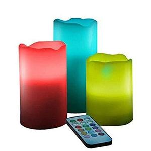 Luma Candles Real Wax Flameless Candles With Remote Control