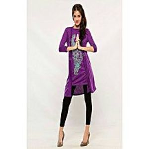 AH Collection Pakistan Purple Twill Shirt For Women