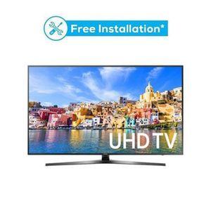 MU7350 - 49 Curved 4K UHD Smart LED TV - Black