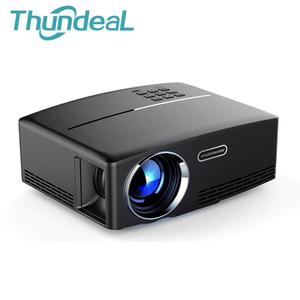 ThundeaL GP80 Android 6.0 Portable Mini 3D LED LCD Projector, VGA HDMI Optional Bluetooth Wireless Wi-Fi Beamer