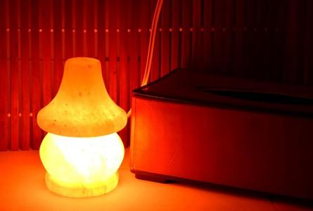 "Salt Lamp for decoration Asthma and Allergy Patients to Clean Atmosphere, 4"" Base and 5.2"" high"