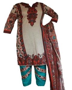 3 Pcs - Printed Lawn Dress For Women