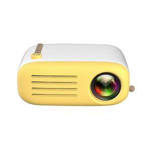 ALLOYSEED - YG200 Mini Portable Projector 500-600LM 1080P 320x240 Home Theater Player - US