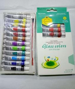 Glass Paints - Pack Of 12