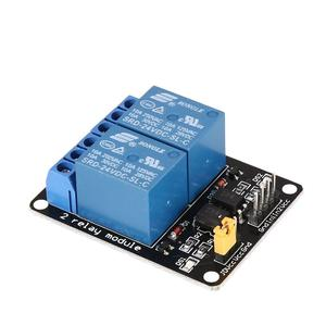 24V 2 Way Relay Module Interface Board Low Level Trigger Optocoupler Arduino