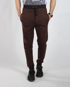 Mens French Terry -Dark Brown trouser-M