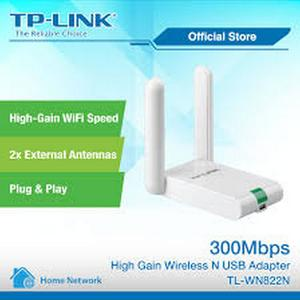 TP-Link 300Mbps High Gain Wireless USB Adapter TL-WN822N, High Quality Wifi Router, Branded Wifi TPLINK