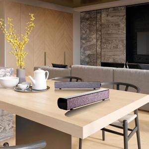 Purism 20W Bluetooth Soundbar Speaker Sound Bar TV Home Theater Subwoofer For Laptop PC