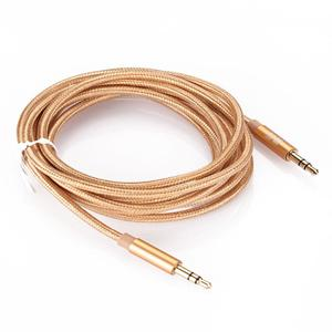 3.5mm Male to Male M/M Plug Stereo AUX Audio Cable Lead Wire For PC MP3 Car