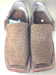 CRAZY SALE 60% New Stylish Velvet Leather Brown Mens Balaaj Style Peshawari Sandal (Same Product Will Deliver)