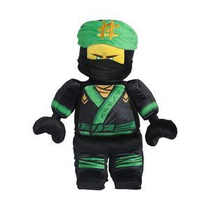 Ninja Movie Character, Cuddle Pillow, Lloyd Warrior Green/Black Design 17 inch
