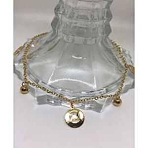 Fashion housepk Golden Alloy Anklet for Women