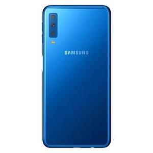"Samsung A7 (2018)- Display 6.o"" Super AMOLED -Triple Camera Back(24MP+8MP+5MP)-4GB,128 GB (with Free Power Bank Gift)"