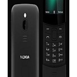 "Nokia8110 Dual Sim - 2.45"" Lcd - 2.5Gb Rom - 2Mp Camera - Black - 4G Lte"