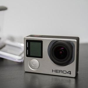 GoPro Hero4 SILVER used just like new, Only Camera with battery (Without housing box or any accessories) Excellent Condition 100% Genuine Working GOPRO HERO4 SILVER