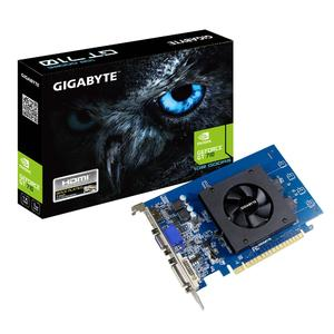 GIGABYTE GeForce GT 710 1GB 64-Bit GDDR5 ATX Graphic Card (GV-N710D5-1GI)