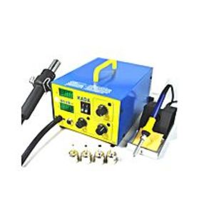 Pakistan Online Shop Heat Air Gun Rework Station with Soldering Iron - 952D+