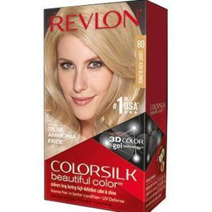Color Silk 3D Technology USA For Men and Women No 80 Light Ash Blonde