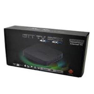 MXQ Android Smart TV Box with Remote - Quad Core - Black