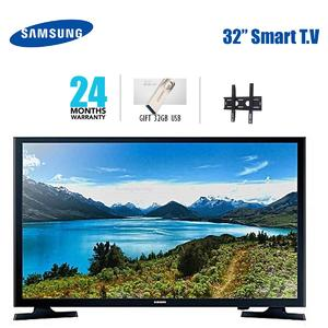 SAMSUNG NU5500 32 Inch Smart TV with Latest Android Features- 2 Years Warranty- 32 GB USB & Free Wall Stand