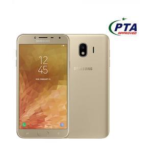"Samsung Galaxy J4 16GB 2GB Dual Sim Gold  -  Size 5.5"""