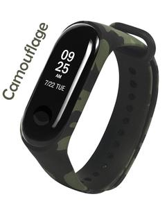Strap For Mi Band 3 - Camouflage Green (Special Army Design)