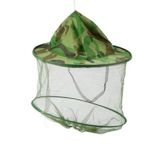 TE Insect Bee Mosquito Resistance Bug Net Mesh Head Face Protector Cap Sun Hat
