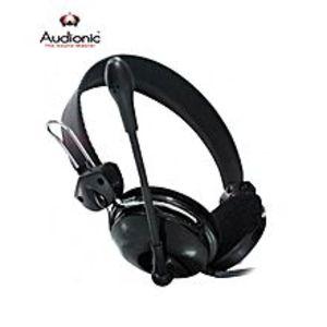 AudionicHeat On-Ear Headphones (AH-115) - Black