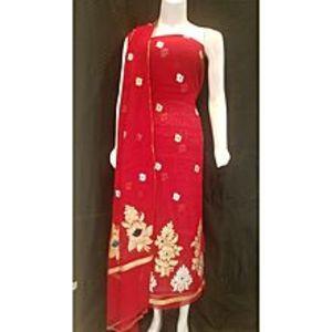 Banaras FashionShirt Dupatta Khadi SP for Women for Women - Red