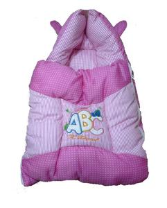Pink Bunny Ears Sleeping Bag For Baby