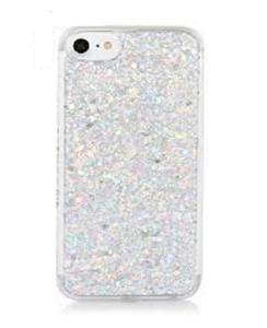 For Samsung J5 2016 Moving Glitter Silver Mobile Cover