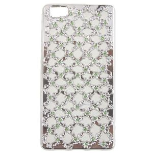 Fancy Back Cover For Huawei P8 Lite - Silver