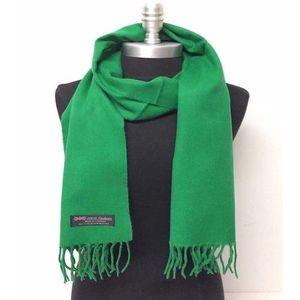 Green Wool Muffler For Men