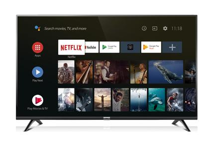 "TCL S6500 - 40"" Androidâ""¢ Full HD LED TV - Black"