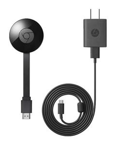 Chrome Cast TV streaming device by Google
