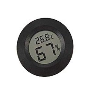 ArduinoMini Digital Lcd Thermometer Hygrometer Round Shape Temperature Humidity Meter