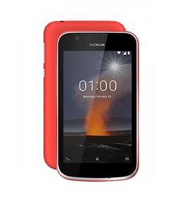 "Nokia 1 - 4.5"" - 1GB RAM - 8GB ROM - 5 MP Camera - Red"