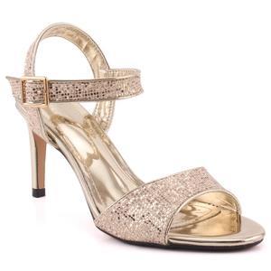 "Women ""Lavinia"" Ankle Strap Sequenced Open Toe Stiletto Heel Sandals  L31726"