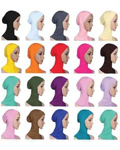 Pack Of 5 - Multi Color Mix Cotton Hijab For Women