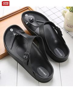 High Quality Flip Flop Slippers-Black-Size:45